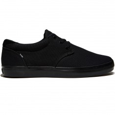Globe Willow Shoes - Black/Black Canvas