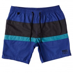 Globe Throw Back Volley Poolshorts - Atoll Blue