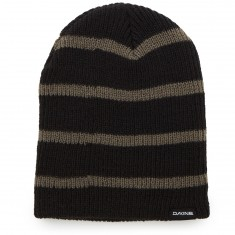 Dakine Tall Boy Stripe Beanie - Black/Charcoal