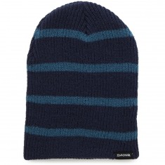 Dakine Tall Boy Stripe Beanie - Midnight/Chili Blue