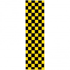 FKD Checkered Griptape - Black/Yellow