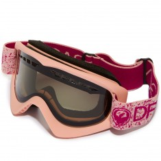 Dragon DX 2017 Snowboard Goggles - Pink/Smoke