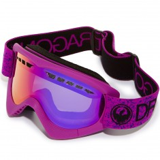 Dragon DXS Snowboard Goggles - Violet/Purple Ion