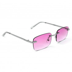 0c6f1353e51c Glassy K Walks Sunglasses - Silver/Pink Lens