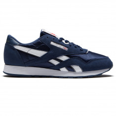 6169b7871c9 Reebok Classic Nylon Shoes - Team Navy Platinum