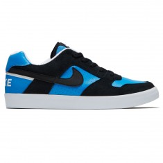 Nike SB Delta Force Vulc Shoes - Black/Black/Italy Blue