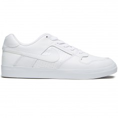 Nike SB Delta Force Vulc Shoes - White/White/White