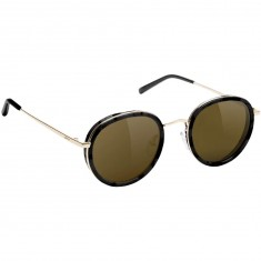 Glassy Lincoln Sunglasses - Black/Brown Lens