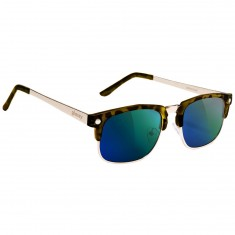 Glassy P-Rod Polarized Sunglasses - Tortoise/Green Mirror