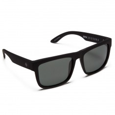 Spy Discord Sunglasses - Soft Matte Black/Happy Gray Green
