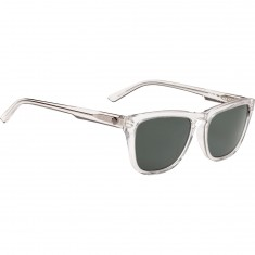 Spy Hayes Sunglasses - Bare Crystal/Happy Gray Green