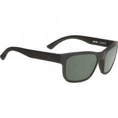 Spy Hunt Sunglasses - Matte Black/Happy Gray Green