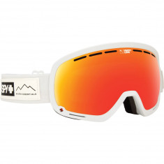 4bf0b91a92d Spy Marshall Snowboard Goggles - Essential White Happy Gray Green Red  Spectra Happy