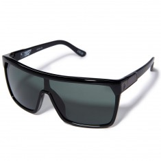 Spy Flynn Sunglasses - Black/Matte Black/Happy Gray Green