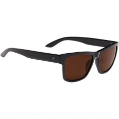 Spy Haight 2 Sunglasses - Soft Matte Black/Tort Fade/Happy Gray Green