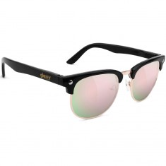 Glassy Morrison Sunglasses - Black/Pink