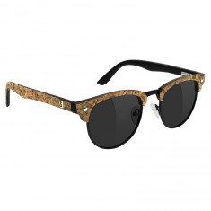 Glassy Dashawn Jordan Polarized Sunglasses - Black/Cork