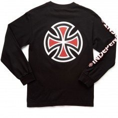 Independent Bar/Cross Long Sleeve T-Shirt - Black
