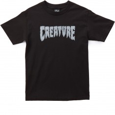 Creature Shredded T-Shirt - Black