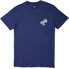 Santa Cruz Streets On Fire Pocket T-Shirt - Royal