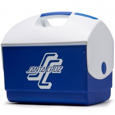 Santa Cruz OGSC Ice Chest Cooler - White/Royal