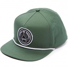 Creature Hang In There Adjustable Snapback Hat - Kelly Green