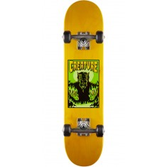 Creature Lil Devil Micro Skateboard Complete - Yellow - 6.75