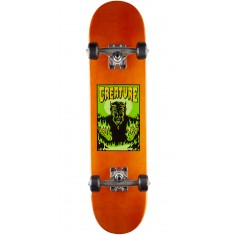 Creature Lil Devil Mini Skateboard Complete - Orange - 7.0