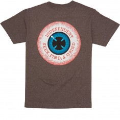Independent 50/50 Vision T-Shirt - Brown Heather