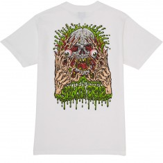 Santa Cruz Face Ripper T-Shirt - White