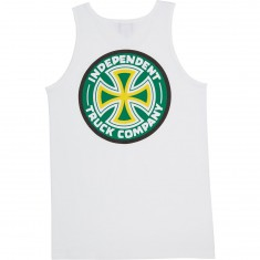 Independent Colors Fit Tank Top - White