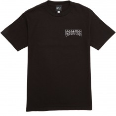 Creature Burnout T-Shirt - Black