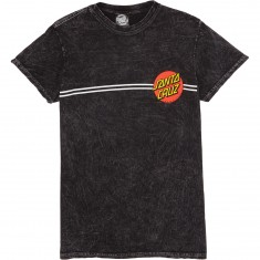 Santa Cruz Classic Dot T-Shirt - Mineral Black
