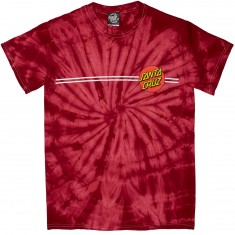 Santa Cruz Classic Dot Regular T-Shirt - Spider Crimson