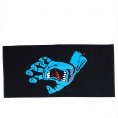Santa Cruz Screaming Hand Towel - Black