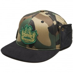 Creature Bobber Fitted Hunting Hat - Camo/Black