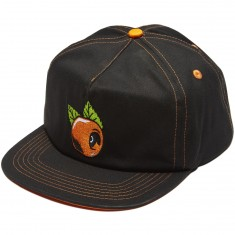 OJ Wheels Orange Hat - Black