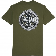 Independent Past Present Future T-Shirt - Military Green