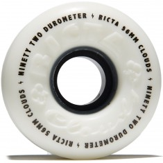 Ricta Clouds 92a Skateboard Wheels - Black - 56mm