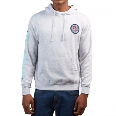 Independent T/C Patch Combo Pullover Hooded Sweatshirt - Grey Heather