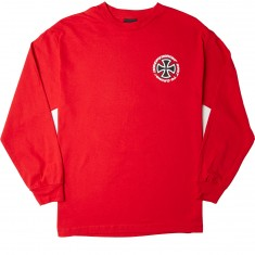 Independent Speed Kills Longsleeve T-Shirt - Red