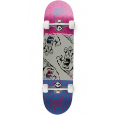 Santa Cruz Many Hands Twin Tip Team Skateboard Complete - 8.25