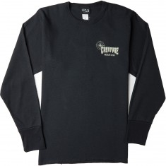 Creature Fish And Game Thermal Longsleeve T-Shirt - Black