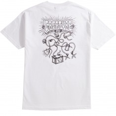 Creature Wirez Pocket T-Shirt - White
