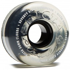 Ricta Crystal Clouds 78a Skateboard Wheels - Clear - 56mm