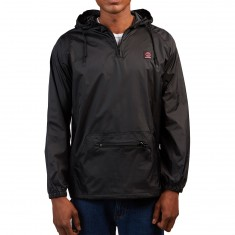 Independent Reflective Cross Anorak Jacket - Black/Red