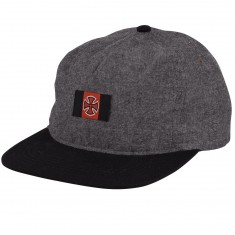 Independent Skateboard Trucks Banner Hat - Black Chambray