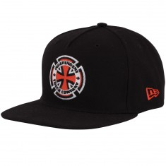 Independent Skateboard Trucks Ringed Cross Hat - Black