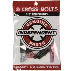 Independent Genuine Parts Phillips Hardware - Black/Red - 7/8""