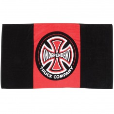 Independent Skateboard Trucks Banner Towel - Black/ Red